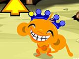 Прохождение игры Счастливая обезьянка побег из пирамиды