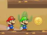 Марио и Луиджи на двоих золото пустыни