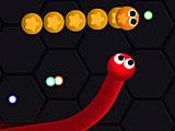 Неоновая змейка