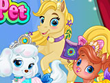 Салон красоты домашних животных принцесс Дисней