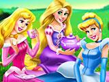 Принцессы Диснея пикник на природе