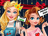 Принцессы Диснея ретро игры