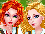 Прохождение игры Принцессы Диснея королевский колледж