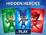 Герои в масках скрытые PJ Masks