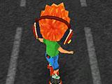 Сабвей серф хулиганы на скейте