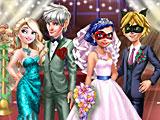 Прохождение игры Свадьба Леди Баг и Супер Кот королевские гости