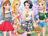 Прохождение игры Пасха Принцесс Диснея