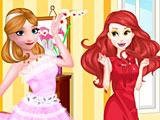 Принцессы Диснея модная битва