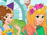 Принцессы Диснея весенние аттракционы