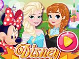 Прохождение игры Микки и Минни в гостях у принцесс Диснея