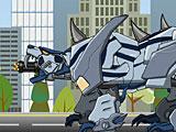 Роботы динозавры Смилодон