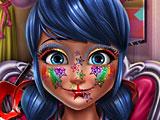 Прохождение игры Леди Баг блестящий макияж