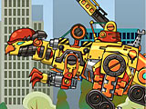Прохождение игры Роботы динозавры ремонт Пахицефалозавра
