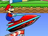 Реактивный водный Марио