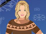 Одевалки: Мисс Зима