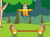 Пожарные бойцы