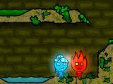 Огонь и Вода в лесном храме