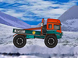 Зимний грузовой дрифт