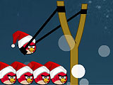 Angry birds: счастливое Рождество