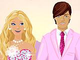 Барби и Кен на красной дорожке