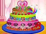 Диамантовый торт Барби