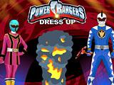 Одевалки: Могучие Рейнджеры