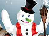 Оденьте Снеговика
