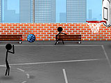 Stickman: уличный баскетбол