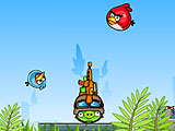 Angry birds: расстрел 2