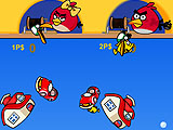 Angry birds: рыбалка в день святого Валентина
