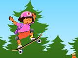 Дора скейтбординг