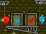 Огонь и Вода в лесном храме 4
