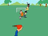 Футбольный удар ногой