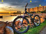 Скрытые колеса велосипеда