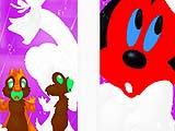 Раскраски: Минни и Чип и Дейл