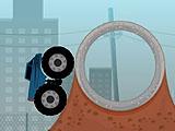Трюки грузовика-монстра