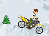 Зимние мотогонки Бен 10
