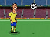 Звездный футбольный удар