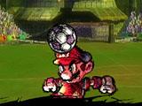 Удары на голове Марио
