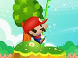 Прыжки Марио в джунглях