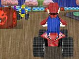 Гонка под дождем Марио
