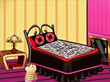 Украшение комнаты девушки-панка