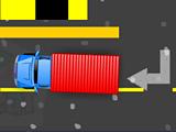 Парковка фабричного грузовика