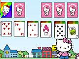 Пасьянс Hello Kitty