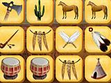 Мистический маджонг индейцев