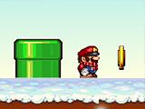 Зимний мир Марио