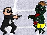 Гангнам Стайл против зомби