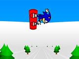 Соник-сноубордист 3Д