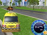 3Д гонка такси