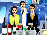 Обслуживание в самолете